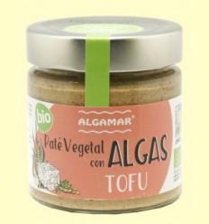 Paté vegetal amb Algues i Tofu - Algamar - 180 grams