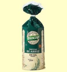 Galetes d'Arròs Sense Sal Bio - Biocop - 200 grams