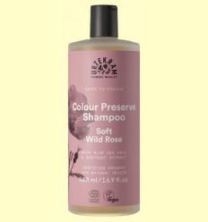 Xampú Soft Wild Rose Colour Preserve - Urtekram - 500 ml
