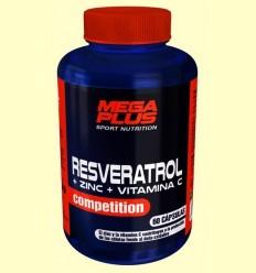 Resveratrol Competition - Zinc i Vitamina C - Mega Plus - 60 càpsules
