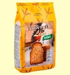 Pa Dextrin amb Llavors de Lli - Santiveri - pack 3 x 300 grams