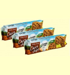 Galetes Xoco Xips - Santiveri - pack 3 x 185 grams