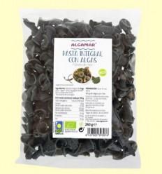 Pasta integral amb Algues Flors de Mar Bio - Algamar - 250 grams