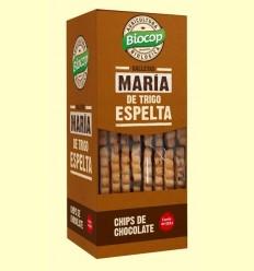 Galetes Maria Blat d'Espelta amb Xips de Xocolata Bio - Biocop - 177 grams