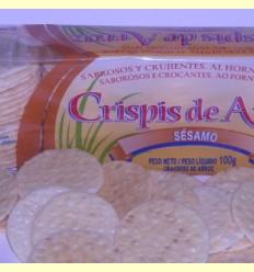 Crispis d'arròs amb Sèsam - Int-Salim - 100 grams