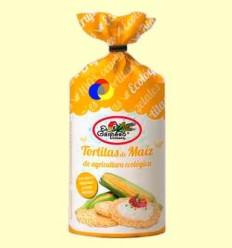Tortitas de blat de moro bio - El Granero - 100 grams