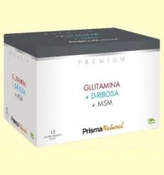 Glutamina, D-Ribosa i MSM - Prisma Natural - 15 sobres