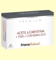 Acetil L-carnitina i PQQ Premium - Prisma Natural - 60 càpsules