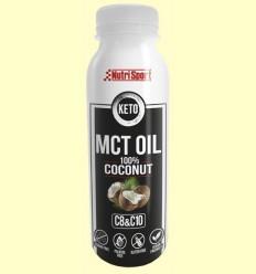 Keto MCT Oil 100% Coconut - Oli de Coco - NutriSport - 300 ml