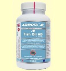 Fish Oil AB 1200 mg - Oli Peix - Airbiotic - 60 càpsules