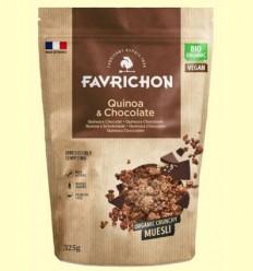 Muesli Crunchy Quinoa i Xocolata Bio - Favrichon - 325 grams