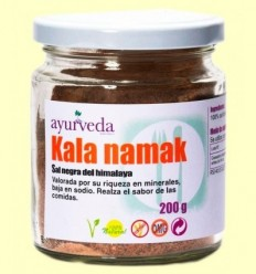 Kala Namak - Sal Negra de l'Himàlaia - Ayurveda - 200 grams