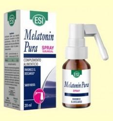 Melatonina Pura Spray Sublingual 1 mg - Melatonina - Laboratorios Esi - 20 ml