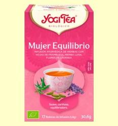 Dona Equilibri Bio - Yogi Tea - 17 infusions