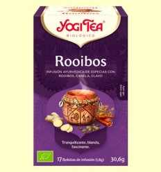 Rooibos Bio - Yogi Tea - 17 infusions