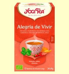 Alegria de Viure Bio - Yogi Tea - 17 infusions