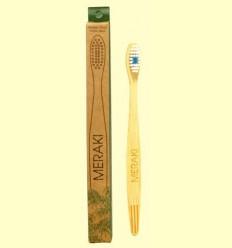 Raspall de Dents de Bambú Dur - Meraki - 1 unitat