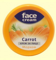 Crema Hidratant Facial de Pastanaga Antioxidant - Biofresh - 100 ml