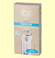 Filtres de Paper per a Tassa de Te mida S - Cha Cult - 100 unitats