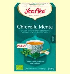 Chlorella Menta Bio - Yogi Tea - 17 infusions