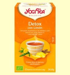 Detox amb Llimona Bio - Yogi Tea - 17 infusions