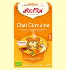 Chai Cúrcuma Bio - Yogi Tea - 17 infusions