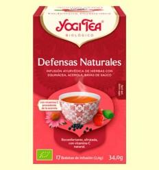 Defenses Naturals Bio - Yogi Tea - 17 infusions
