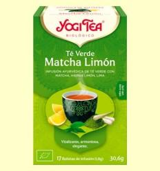 Te Verd Matcha Llimona Bio - Yogi Tea - 17 infusions
