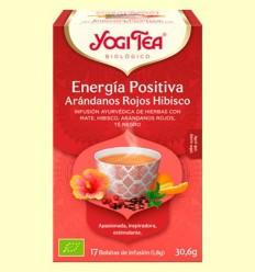 Energia Positiva Nabius Vermells i Hibisc Bio - Yogi Tea - 17 infusions