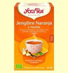 Gingebre Taronja i Vainilla Bio - Yogi Tea - 17 infusions