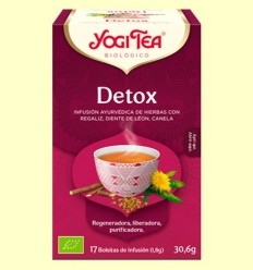 Detox Bio - Yogi Tea - 17 infusions