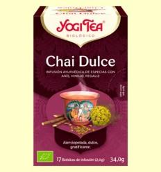 Chai Dolç Bio - Yogi Tea - 17 infusions