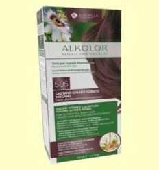 Alkolor Castaño clar Caoba Daurat 5.35 - Biocenter - 155 ml