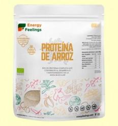 Proteïna d'Arròs Eco Vainilla - Energy Feelings - 1kg