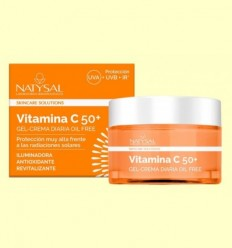 Crema Diària Vitamina C 50 + - Natysal - 50 ml