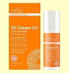 CC Cream Vitamina C 50 + - Natysal - 20 ml
