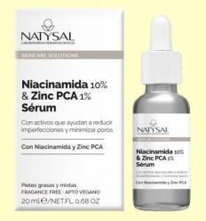 Niacinamida 10% i Zinc Pca 1% Sèrum - Natysal - 20 ml