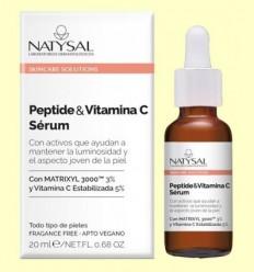 Peptide i Vitamina C Sèrum - Natysal - 20 ml