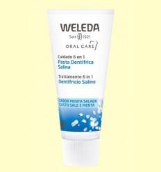 Pasta dentrífica salina - Weleda - 75 ml