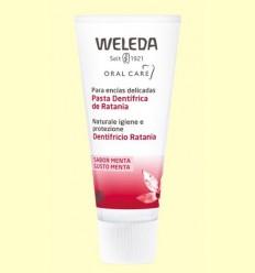 Pasta dentrífica de ratania - Weleda - 75 ml