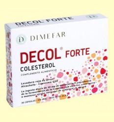 Decol Forte Llevat Roja Arròs - Laboratorios Dimefar - 30 càpsules