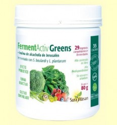 Ferment Activ Greens - Sura Vitasan - 80 grams