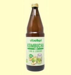 Kombucha Lima i Gingebre Bio - Voelkel - 750 ml