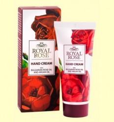Crema de Mans amb Oli de Rosa Bulgària i Argan - Biofresh Royal Rose - 50 ml