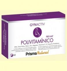 Gynactiv Pre-nat polivitamínico - Prisma Natural - 60 càpsules