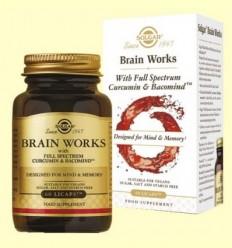 Brain Works Full Spectrum Cúrcuma i BacoMind - Solgar - 60 càpsules