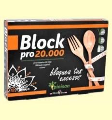 Block Pro 20.000 - Control de Pes - Pinisan - 30 càpsules