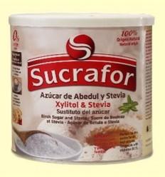 Sucre de Bedoll amb Xylitol i Stevia - Sucrafor - 300 grams