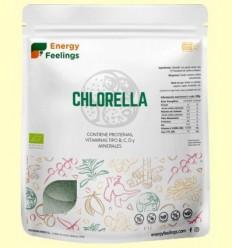 Chlorella en Pols Eco - Energy Feelings - 1kg