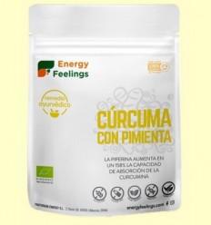 Cúrcuma amb Pebre Negre en Pols Eco - Energy Feelings - 200 grams